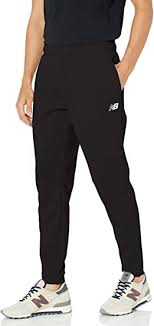 New Balance Men's <b>Tenacity Knit Pant</b>, Black 19, X-Large, Clothing ...