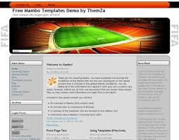 soccer field templates soccer field free mambo template