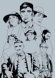 Peaky blinders is a british period crime drama television series created by steven knight. Peaky Blinders Domestika