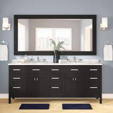 Real wood bathroom vanities Bathroom Sink Quickview Birch Lane Solid Wood Bathroom Vanities Birch Lane