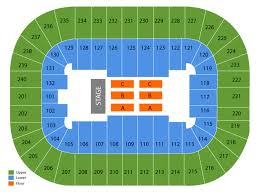 Greensboro Coliseum Detailed Seating Chart Greensboro Coliseum Seating Chart Cheap Tickets Asap