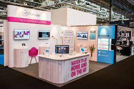 Modular Exhibition Stand Design Tvplayer Prestige Modular Exhibition Stand Design By