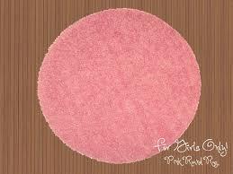 round pink rug. Pink Set Round Rug