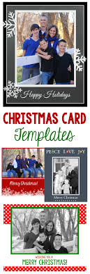 free christmas cards to make free christmas card templates crazy little projects