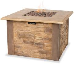 lp gas outdoor firebowl w faux stone mantel by endless summer