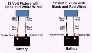 cheap rv living com basic 12 volt wiring how to install a led 12 Volt Wiring Diagram For Lights diagram showing which color wire to use wiring diagram for 12 volt bowfishing lights