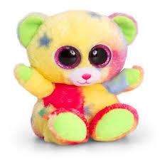 Animotsu Rainbow Bear 15cm Floral Fusions Leicester Based
