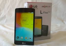 Getting along with the new LG L Fino ...
