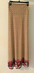 Details About 3xl Lularoe Maxi Beautiful Multi Color Print W Reds Purple Dipped Floral Nwt