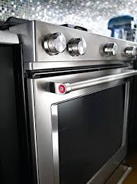 kitchenaid double oven induction range 5 burner induction double oven