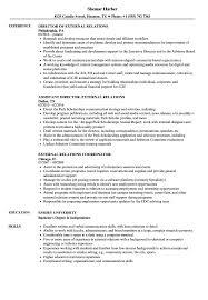 External Relations Resume Samples | Velvet Jobs