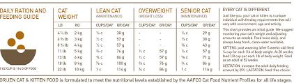 Kitten Feeding Chart Orijen Cat Kitten Dry Food