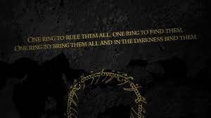 Lord Of The Rings Ring Quote Adorable Dark Background Quote The Lord Of The Rings Typography