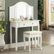 Bedroom Vanities & Makeup Table Sets   Hayneedle