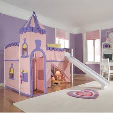 bedroom designs for girls with bunk beds. Kids Room : School House Princess Loft Bed Include Castle Tent And Slide Best Design Ideas For Girls Bedroom Designs With Bunk Beds