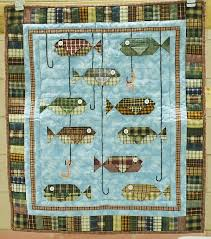 395 best Quilts for baby images on Pinterest & Homespun Fish quilt, 23 x 27