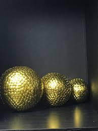 Orb Decorative Ball Gold decorative ball Gold Vase filler Gold crinkle ball 89