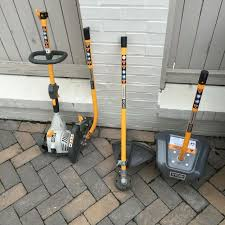 ryobi weed eater. ryobi weed eater with edger and tiller attachments