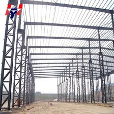 sloping roof e frame sing slope steel beams structure construction building