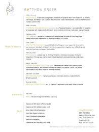 Graphic Designer Resume Example Resume Examples Clean Resumes Plan