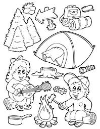 Small Picture Summer Coloring Activities Coloring Pages For Kids In The Summer
