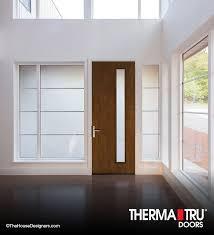 front house door texture. Therma-Tru Pulse Línea Mahogany-grained Fiberglass Door With Satin Etch Privacy And Textured Front House Texture