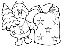 Small Picture Santa Claus Coloring Pages Free Printables esonme