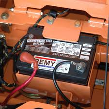 ease of maintenance for mowers power equipment easy access to batteries