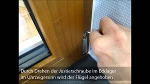 Gnan Wartungstipp Fenster Höheneinstellung Dreh Kipp Fenster Youtube