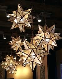 moravian star chandelier star chandelier