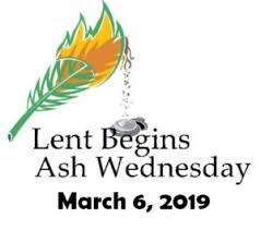 Image result for lent 2019