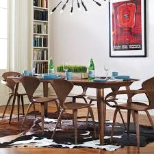 ch177 whole natural side chair walnut or ash wooden norman cherner chair plywood chairs red black
