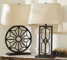 adorable iron table lamps gavin iron table lamp bases pottery barn