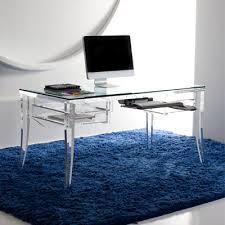 Image Acrylic Sheet Decoist Modern Acrylic Desk Mecox Gardens