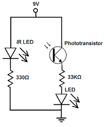 led as detector circuit ru schematic features backup led critical led as detector circuit lighting circuitry led failure detection feb 2 a typical infrared receiver circuit led