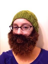 Beard Hat Crochet Pattern Simple A Beard Hat And Christmas Not Your Average Crochet
