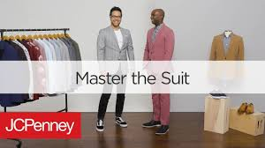 Mens Suit Styles How To Wear A Suit Jcpenney Mens Fashion