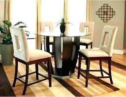 glass top counter height dining table set square round and chairs ii square glass top counter