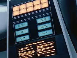 you people wouldn t believe the type design in blade runner wired slide 3 of 7 caption caption the hibernation devices in 2001 a space odyssey use futura for their numeric and medical buttons and univers for their
