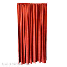 6 ft high fire rated velvet curtains