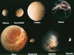 saturn s size moons of saturn saturn moon names features size