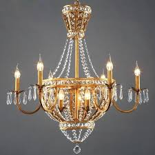 antique chandeliers vintage rustic french style crystal chandelier light home lighting chandeliers rustic country style creative past in