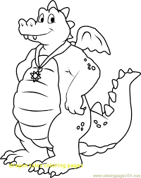 Blue Dragon Coloring Pages At Getdrawingscom Free For Personal