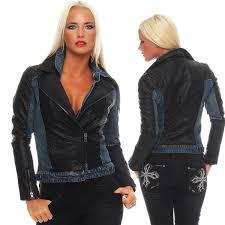 details about miss me las denim jeans jacket faux leather jacket mdj259l