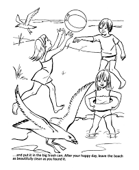 Small Picture Beach Scene Coloring Page Coloring Home