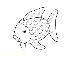 Free Printable Rainbow Fish Coloring Pages Page Best Of For Worksh