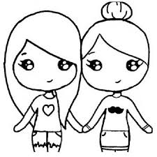 Coloring Pages Of Bffs Unusual Instagram Chibi Coloring Pages