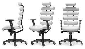 Furniture Pretty White Ergonomic Office Chairs 44 Healthy Seat Friendly Back Chair