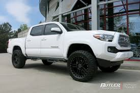 Toyota Tacoma with 20in Black Rhino Mojave Wheels exclusively from ...