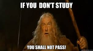 Academic Gandalf memes | quickmeme via Relatably.com